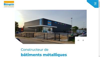Site internet de Bouquet SAS