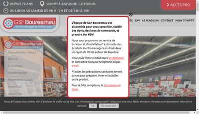 Site internet de Bouresmau