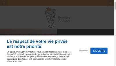Site internet de Bourgey Altitude