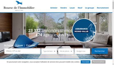 Site internet de Agence du Chateau