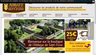 Site internet de Moulin de la Trappe de Sept Fons