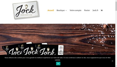Site internet de Produits Jock