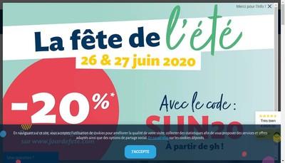 Site internet de Jour de Fete