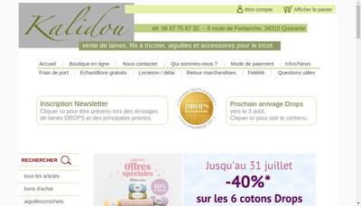 Site internet de Kalidou