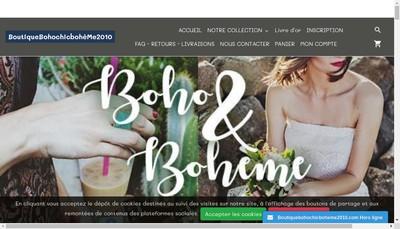 Site internet de Veronique Bourguignon