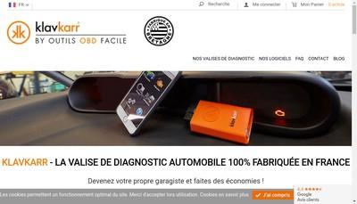 Site internet de Outils Obd Facile