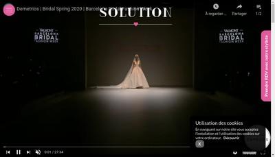 Site internet de Boutique Solution