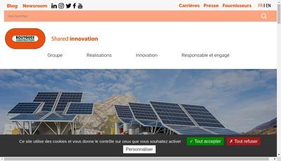 Site internet de Bouygues Construction