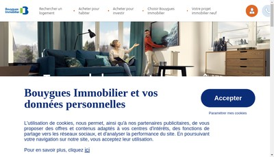 Site internet de Bouygues Immobilier-Cmc