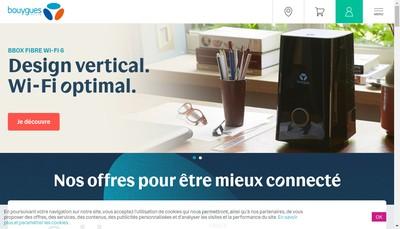 Site internet de Club Bouygues Telecom