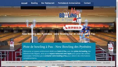 Site internet de New Bowling des Pyrenees