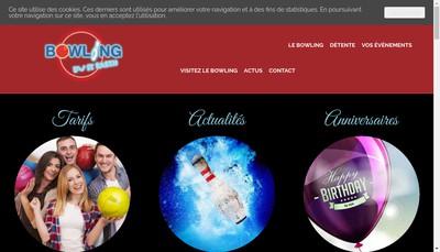 Site internet de Bowling Saint Barth