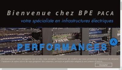 Site internet de Bpe Paca