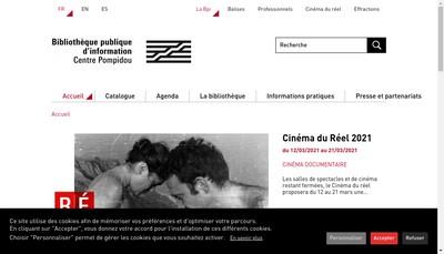 Site internet de BPI