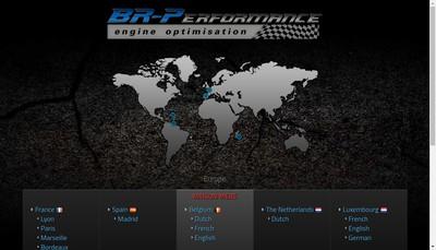 Site internet de Br-Performance Lyon