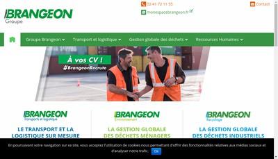 Site internet de Brangeon Environnement