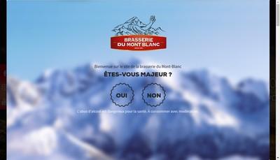 Site internet de Biere du Mont Blanc