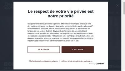 Site internet de Brasserie Georges