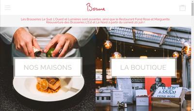 Site internet de Brasserie le Nord
