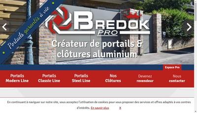 Site internet de Bredok Pro