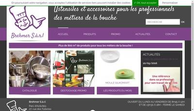 Site internet de Brehmer SARL
