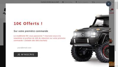 Site internet de Breizh Modelisme