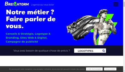 Site internet de Breizhtorm