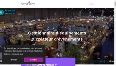 Site internet de Brest'Aim