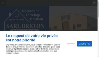 Site internet de Breton