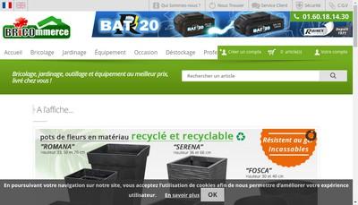 Site internet de Bricommerce
