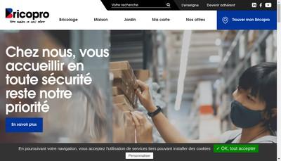 Site internet de Saillet Gaignard