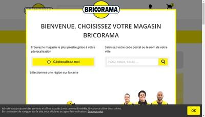 Site internet de Bricorama