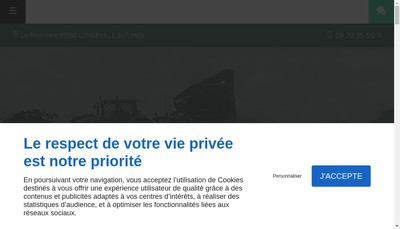 Site internet de Bridonneau Travaux Agricoles