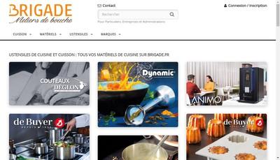 Site internet de Brigade