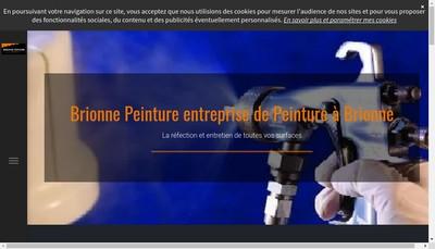 Site internet de Brionne Peinture