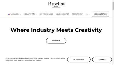 Site internet de Brochot