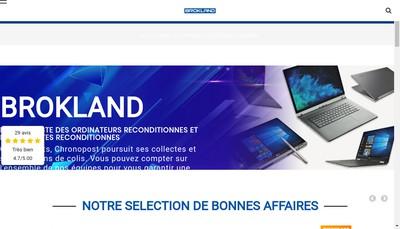 Site internet de Brokland Com