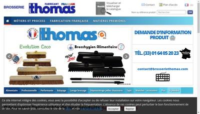 Site internet de Brosserie Thomas
