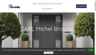 Site internet de SARL Michel Broudic