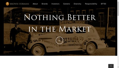 Site internet de Brown-Forman France