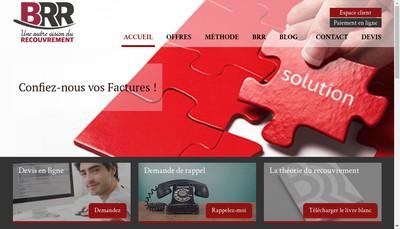 Site internet de Business Renseignements et Recouvrements
