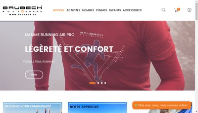 Site internet de Brubeck France