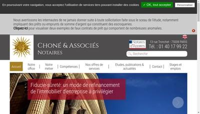 Site internet de Bruno Bedaride Notaire