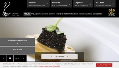 Site internet de Bruno Oger