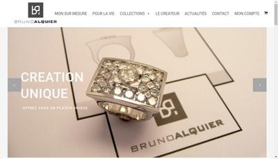 Site internet de Bruno Alquier