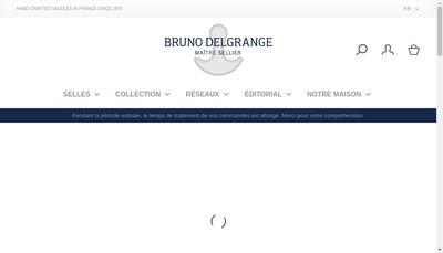 Site internet de Societe Bruno Delgrange