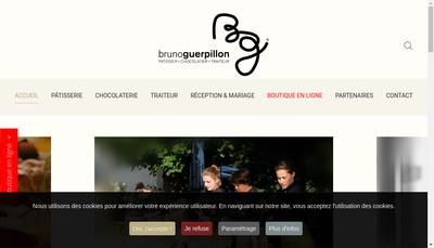Site internet de Patisserie - Chocolaterie Bruno Guerpillon