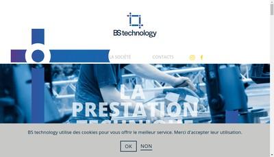 Site internet de Bs Technology