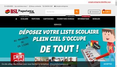 Site internet de Bureau Sud Loire