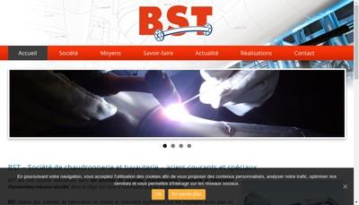 Site internet de Basse Normandie Soudure Tuyauterie